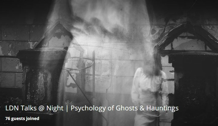The Psychology of Ghosts and Hauntings Funzing Talk by Chris French