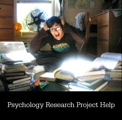 Psychology Research Project Help