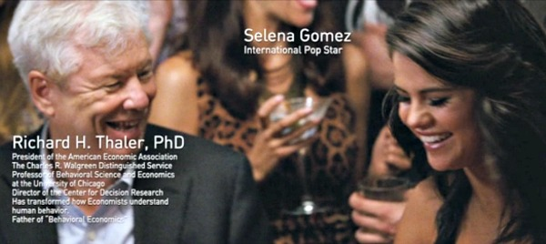 Richard Thaler and Selena Gomez The Big Short