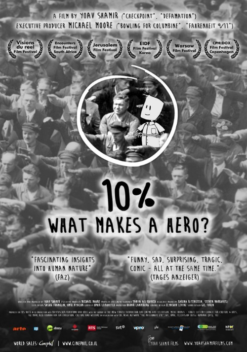 10% What makes a hero?