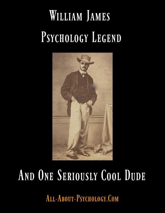 William James Psychology Legend