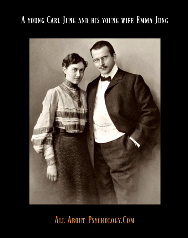 Carl Jung and his wife Emma Jung