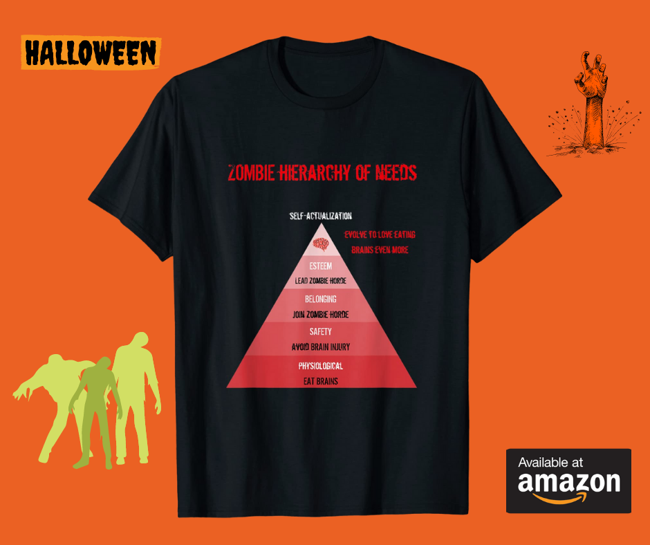 zombie-hierarchy-of-needs-t-Shirt